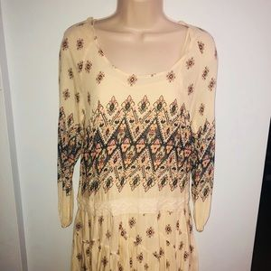 Free People | Boho Dress, Size XSmall